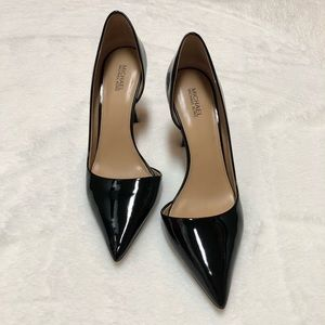 Michael Kors Black Patent Stiletto Heels - Size 8